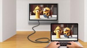Grundig Fernseher Mit Laptop Verbinden : Laptop an fernseher anschließen: so kriegts jeder hin!