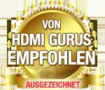 Empfohlen von HDMI Gurus