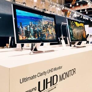 UHD (4K) Monitore mit HDMI 2.0 auf dem Samsung Euro Forum 2014