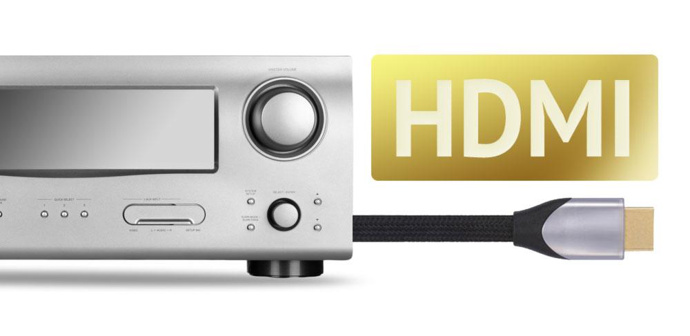 AV Receiver: HDMI Unterstützung ein Muss