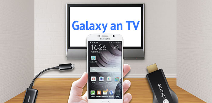 handy auf tv streamen samsung