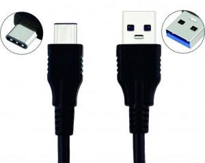 USB 3.1 Kabel mit USB-Typ C und USB Typ A Stecker