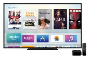 Apple TV 4 App Store